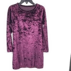 Harper Canyon Sparkle Velvet Velour Tunic Dress